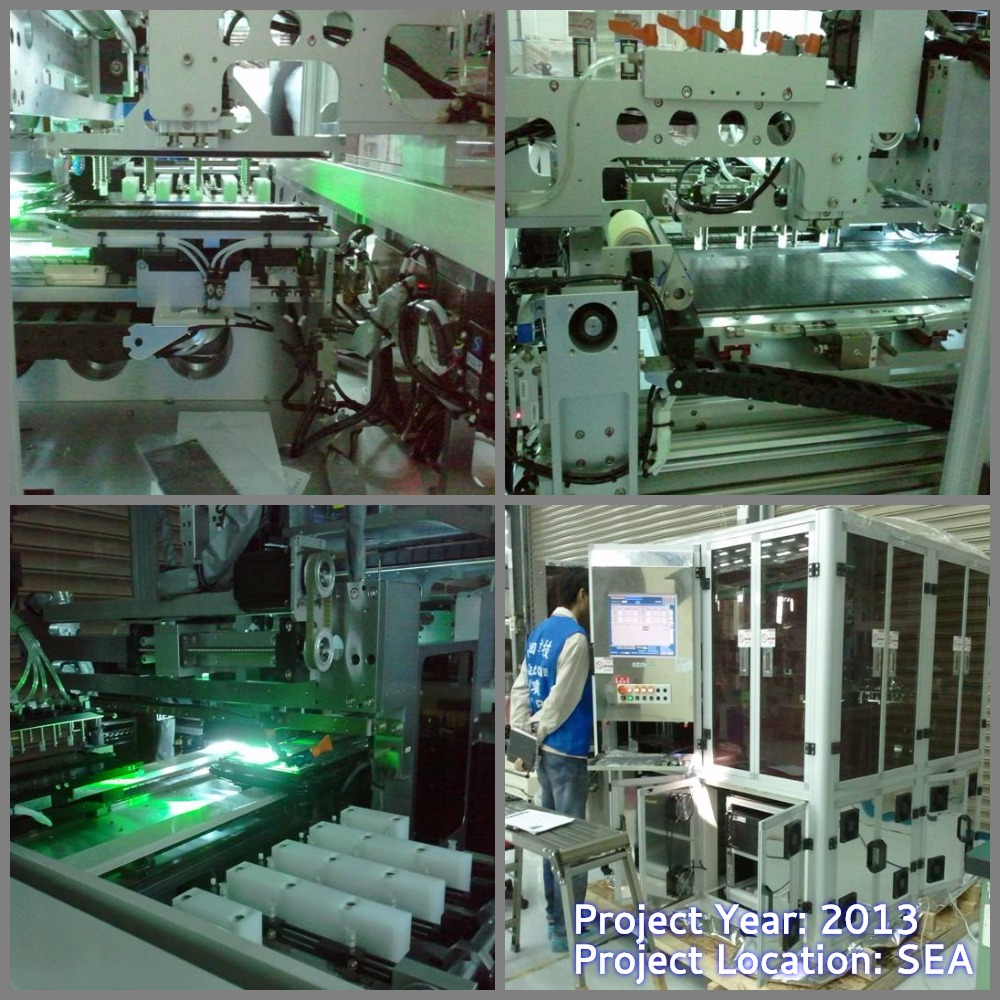 Visual Inspection System project