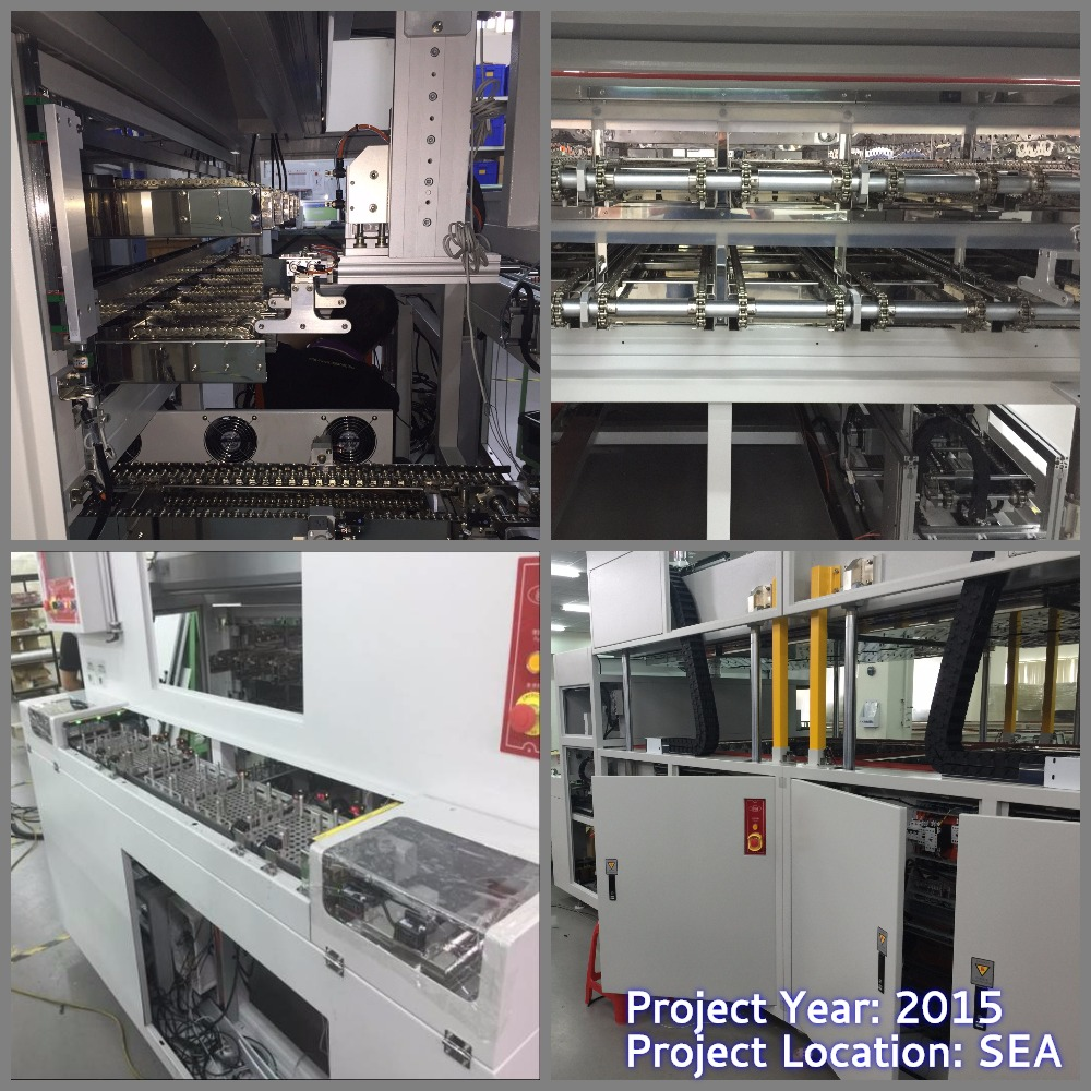 Multi-Lanes Conveyor Curing Oven - Tray