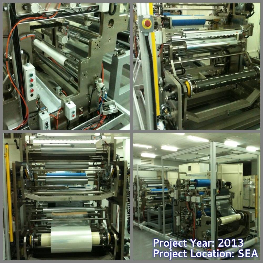 Roll-To-Roll Laminator Machine