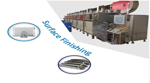 Surface finishing engineering services for industry