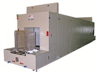 Hot air oven machine
