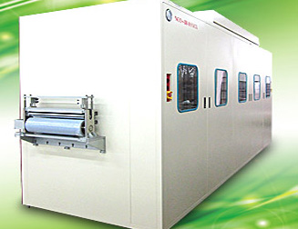 Levitating RtoR Hot-Air Conveyor Oven