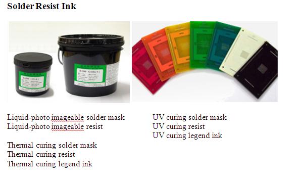 Solder Resist Ink